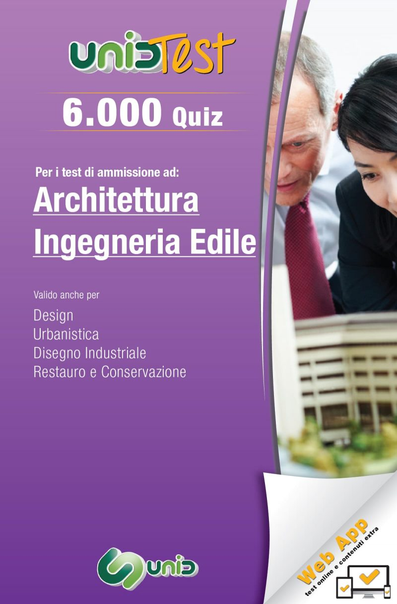 libri test di ammissione architettura ingegneria edile
