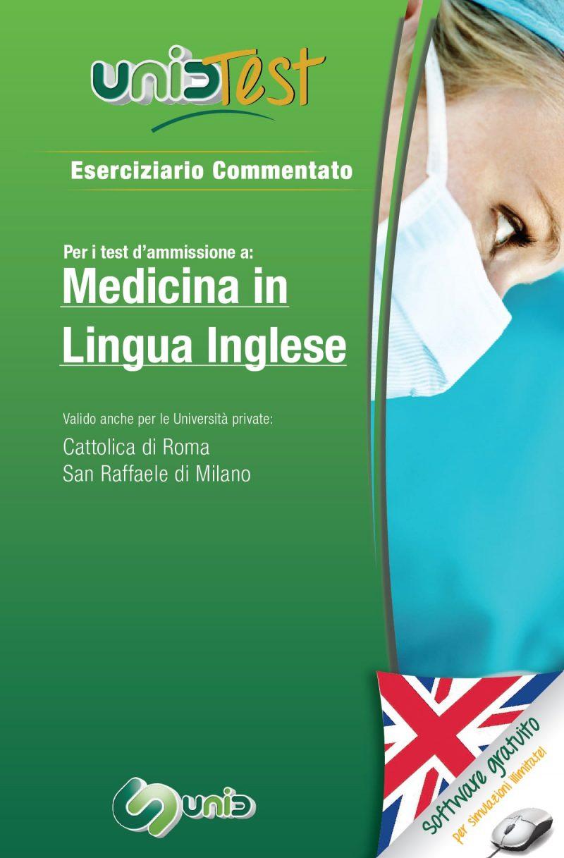 libri test di ammissione medicina in lingua inglese