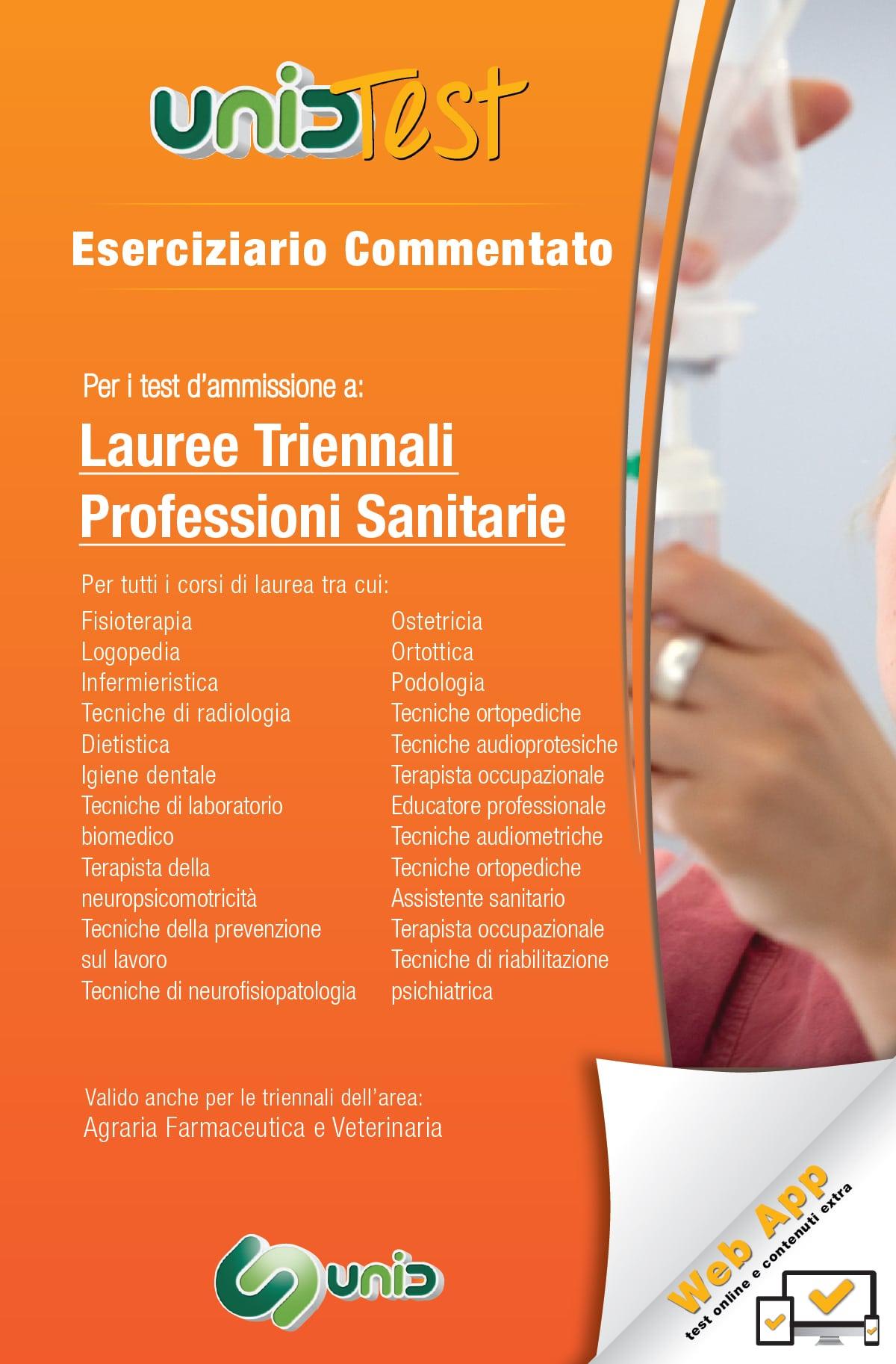 Eserciziario commentato per professioni sanitarie libri for Test ammissione economia