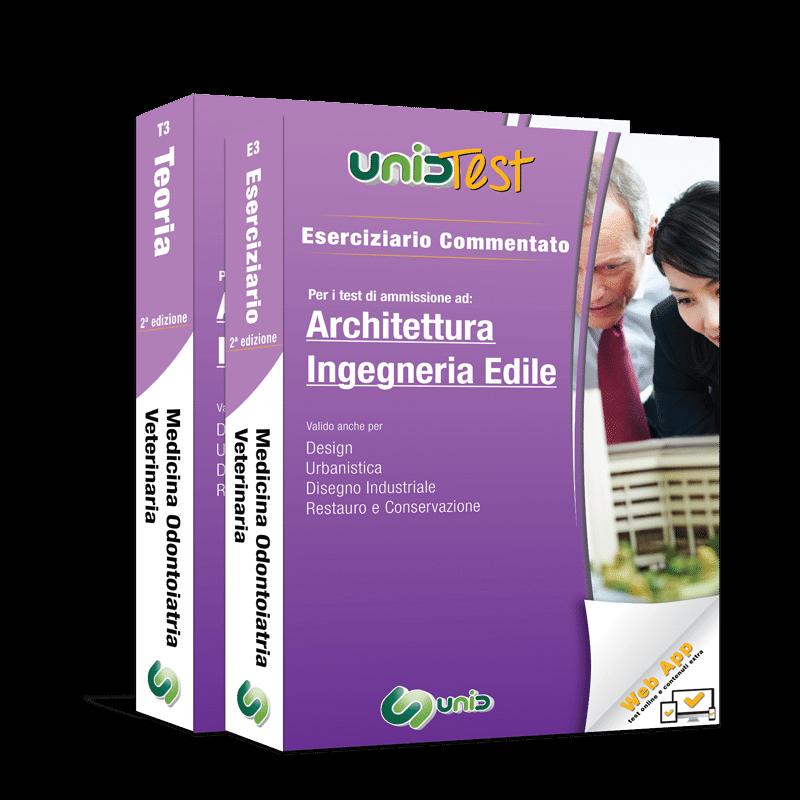 libri test ammissione architettura ingegneria edile
