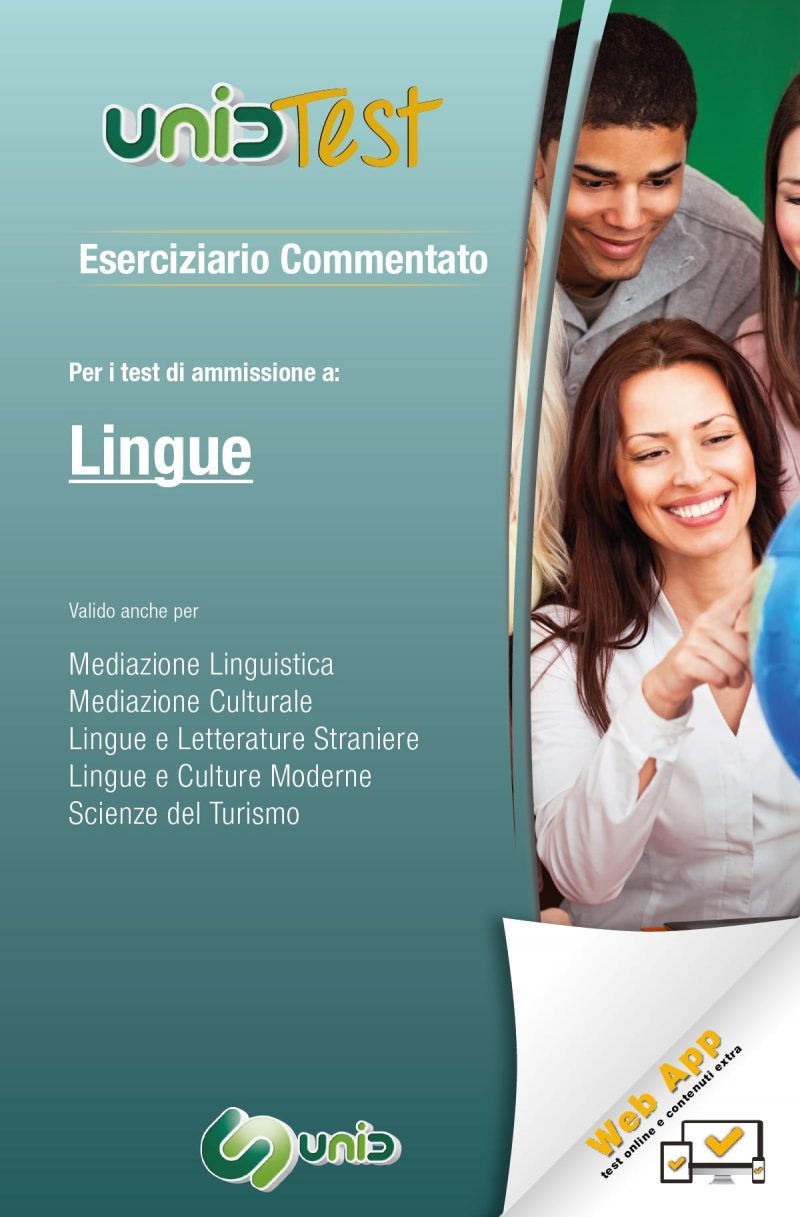 libri test ammissione lingue