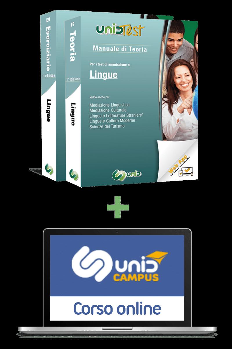 kit libri test lingue con corso online