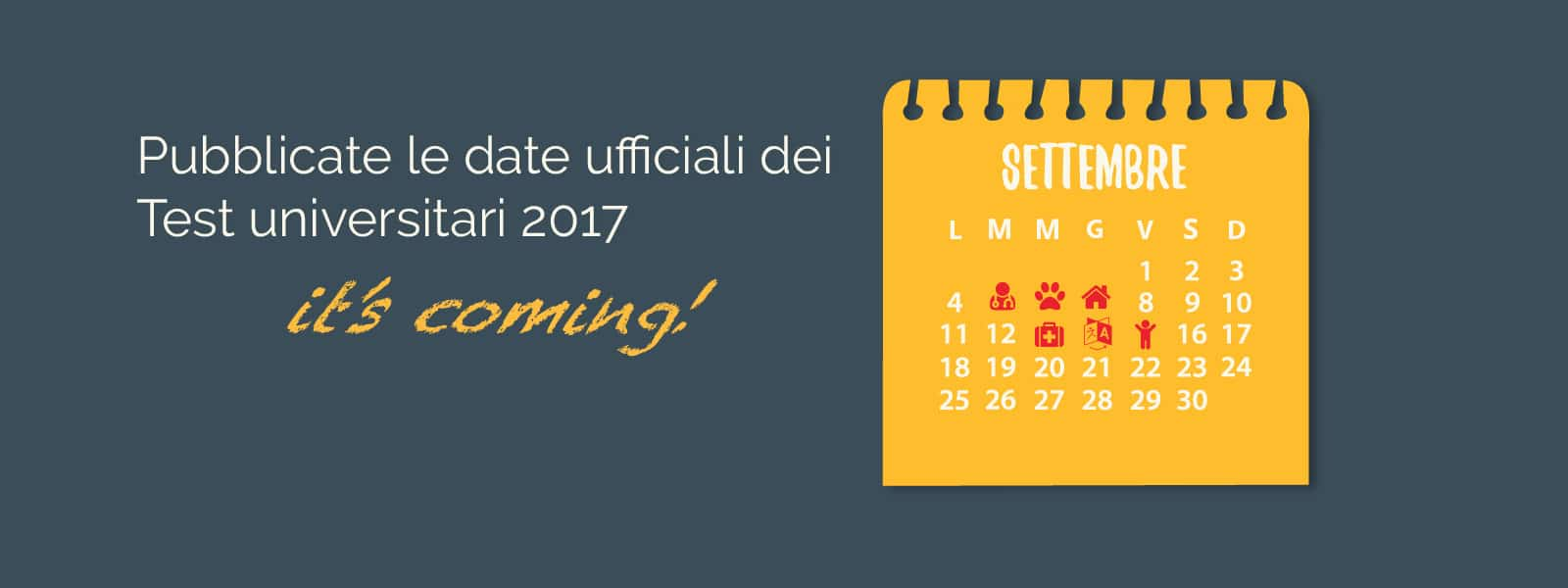 date test ammissione universitari