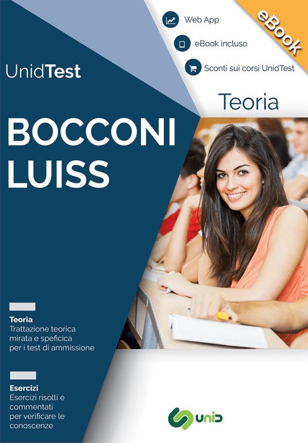 ebook test ammissione Bocconi e luiss