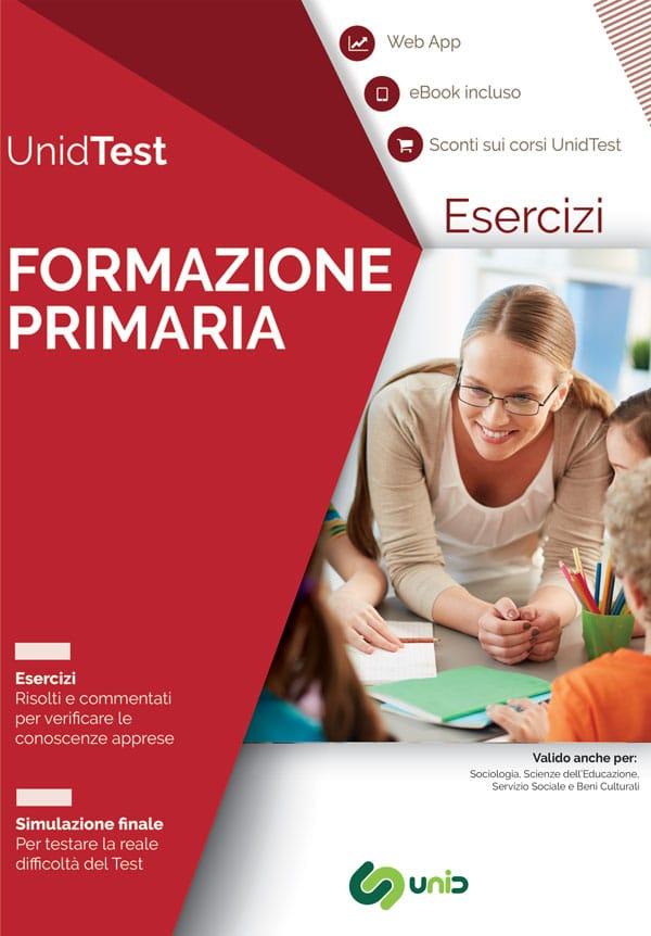 Libri test ammissione Formazione primaria
