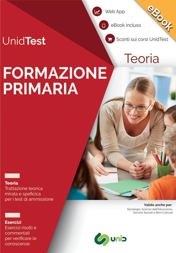 ebook test ammissione Formazione primaria