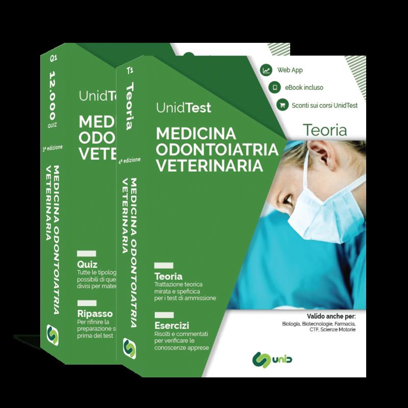 Libri Test di Medicina, Odontoiatria e Veterinaria. Box di Teoria e Quiz con Web App