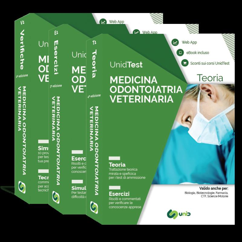 Libri Test di Medicina, Odontoiatria e Veterinaria. Box di Teoria e Eserciziari