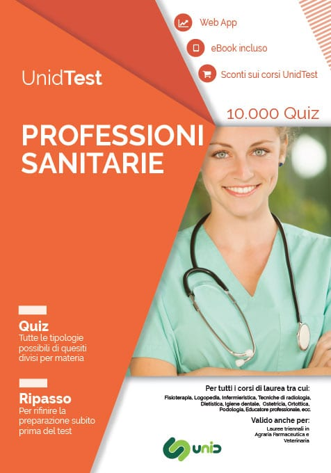 ebook test ammissione Professioni sanitarie