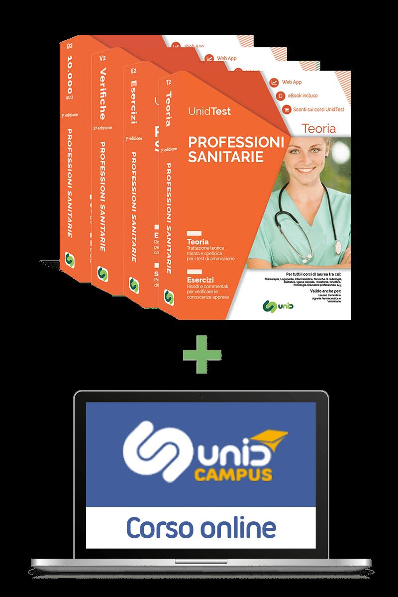 Libri test ammissione Professioni sanitarie